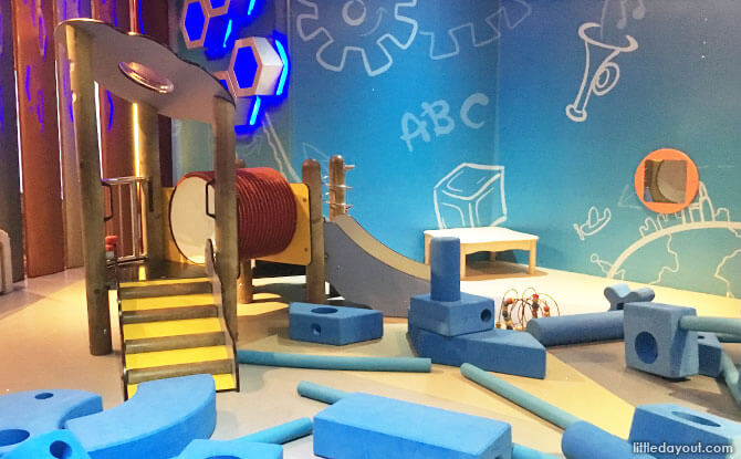Play area for toddlers, Petrosains