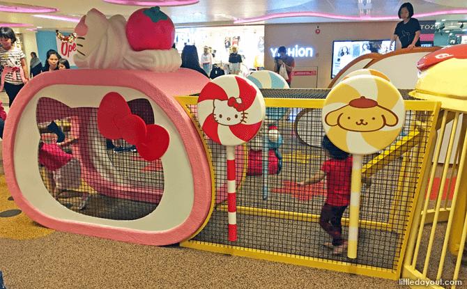 Hello Kitty Children's Playground Changi Airport, T3, B2