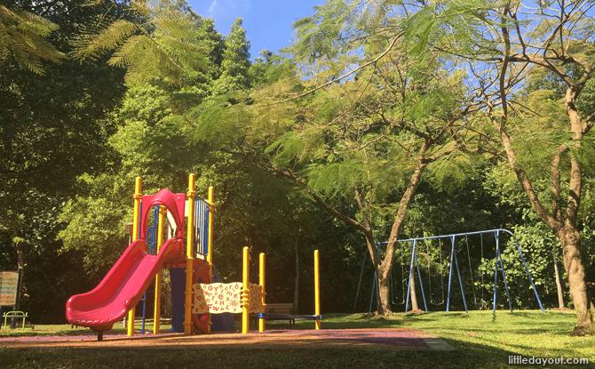 Children's playground at the base of Kent Ridge Park