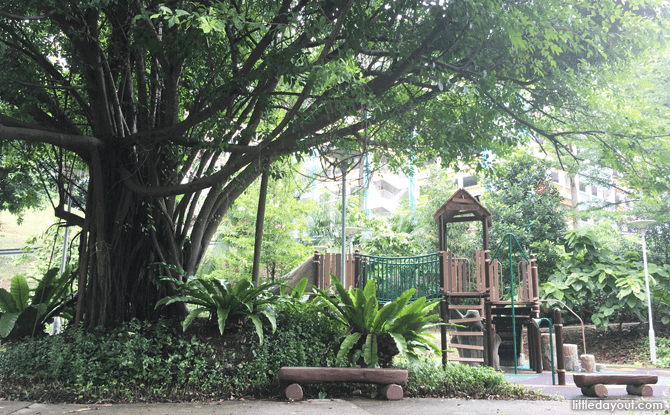 Nature-themed Playground