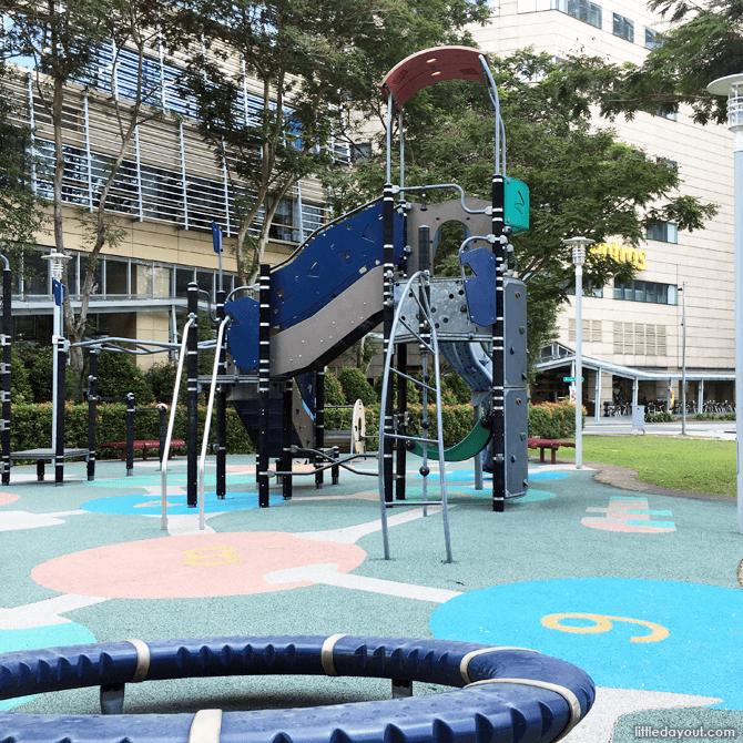 Play tower at one-north's children's playground