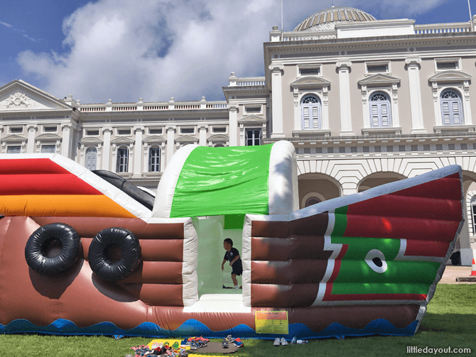 Bumboat Inflatable Playground
