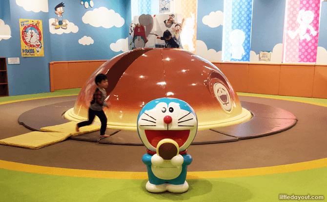 Doraemon Play Zone, Playground at New Chitose Airport, Hokkaido