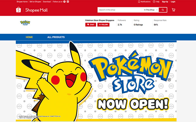 Pokémon Store Shopee Singapore: Exclusive Merch, Deals, What To Shop For And How To Get Free Shipping.
