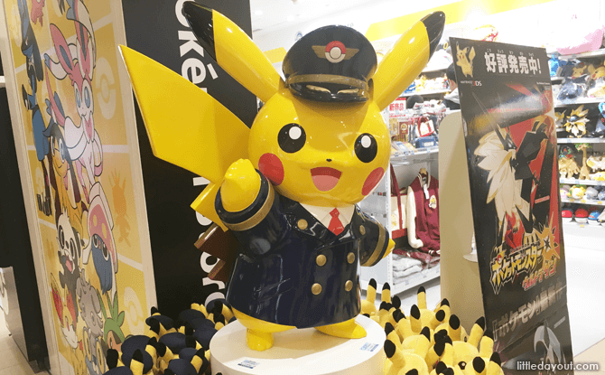 Toy Shopping at New Chitose Airport, Pokemon Store