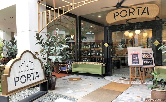 PORTA Fine Food & Import Company, Park Hotel, Clarke Quay