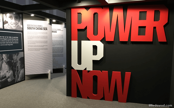 Power Up Now - Power of 1 Exhibition