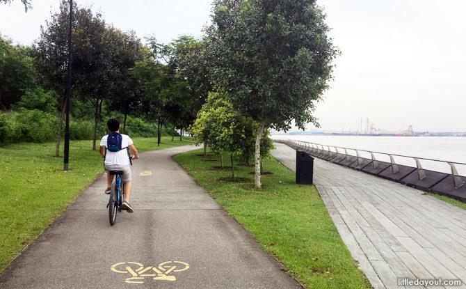 Punggol Promenade Cycling Route
