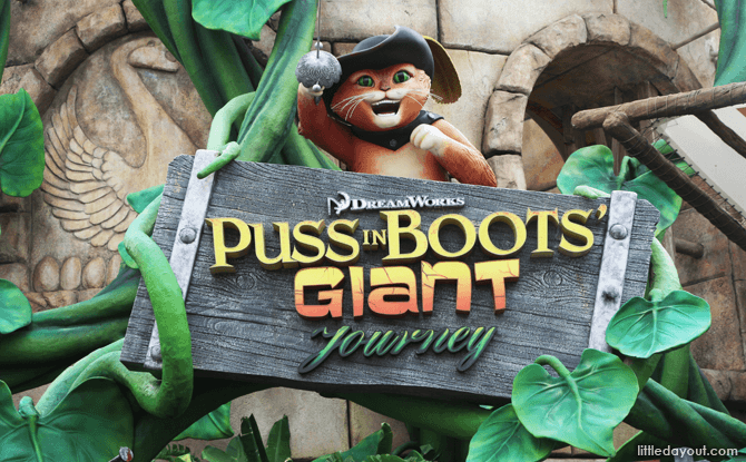 Puss In Boots' Giant Journey