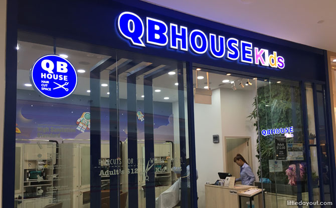 QBHouse Kids, Jewel Changi Airport