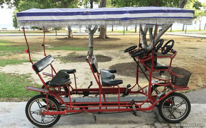 Quad bikes for rent at East Coast Park