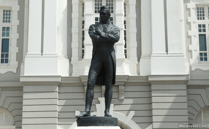 Raffles Statue, Singapore's Civic District
