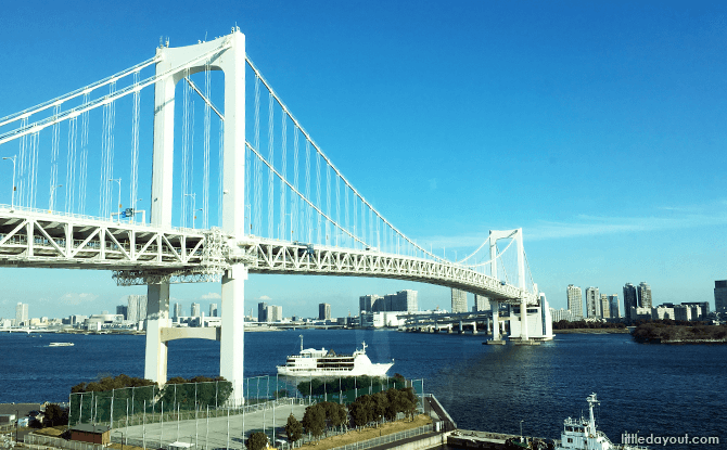 Rainbow Bridge to Odaiba