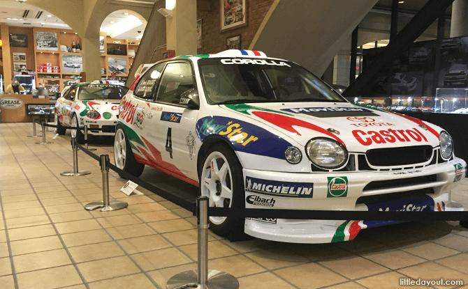 Toyota Mega Web Historic Showcase Rally Cars