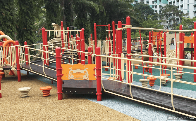 Playground at Canberra Park