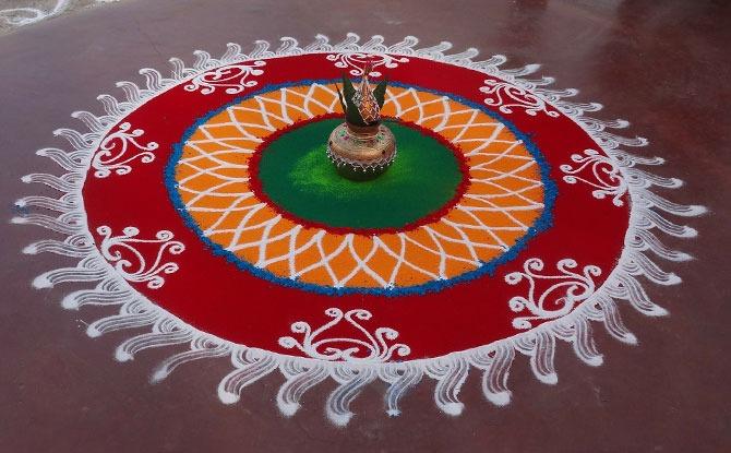 Rangoli - Deepavali Light Up 2020, Little India