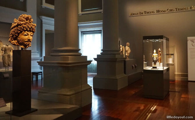 Ancient Religions Gallery at Asian Civilisations Museum