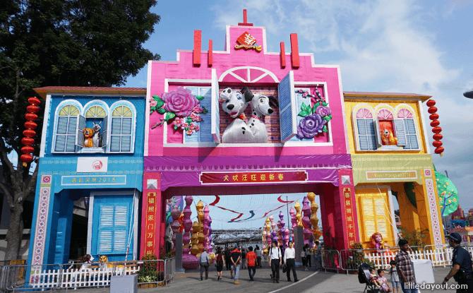 Main Arch at River Hongbao 2018