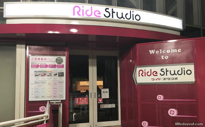 Ride Studio, Toyota Mega Web