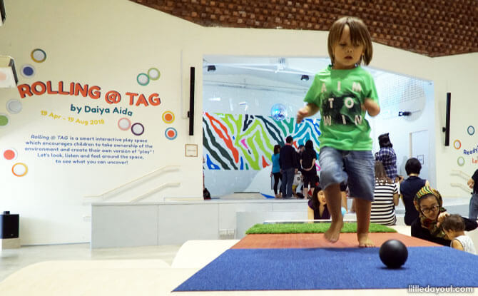 Rolling @ TAG: Get Moving at The Artground