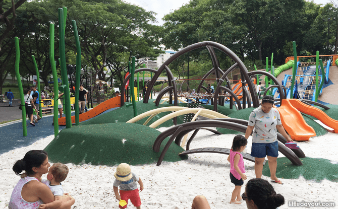 Junior Play area, Admiralty Park Playground