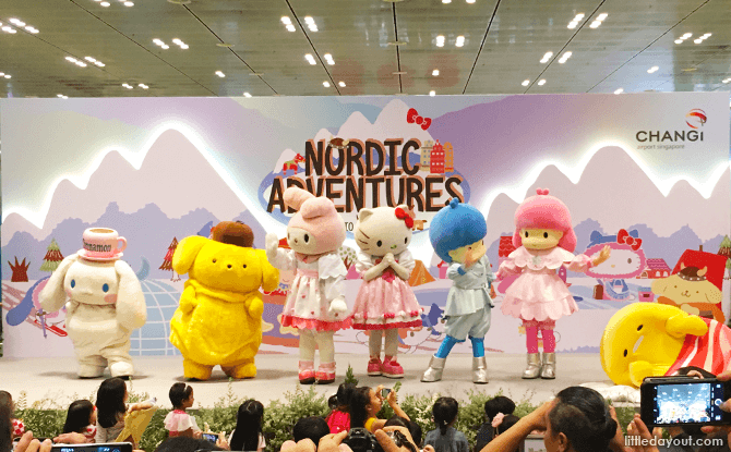 Nordic Adventures with Sanrio Characters at Changi Airport, June Holidays