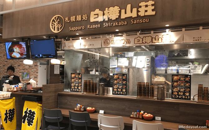 Sapporo Ramen Shirakaba