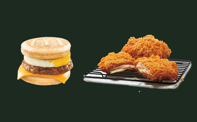 Return Of The Sausage McGriddles And All-New Crispy Chicken At McDonalds