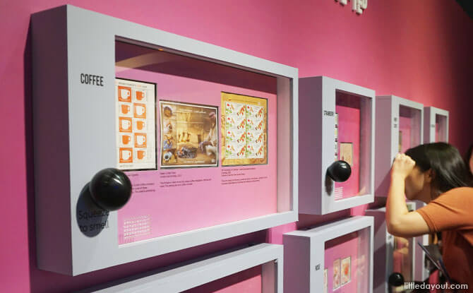 Engage the sense of smell at Singapore Philatelic Museum