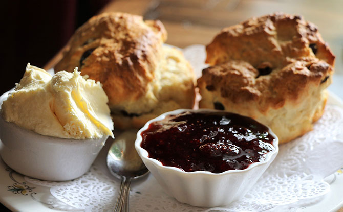 Scones, Afternoon Tea
