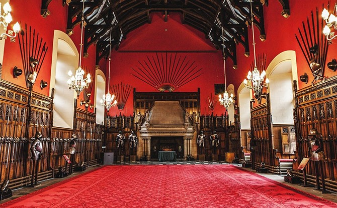 The Great Hall at Edinburgh Castle