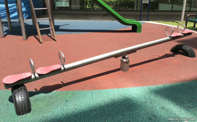 Seesaw at City Green