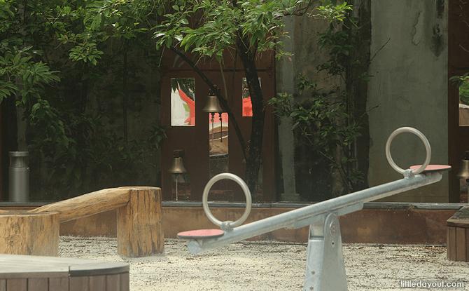 Enjoy the Playground at Esplanade Park on Labour Day 2017