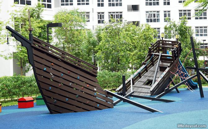 Sengkang Sunken Ship Playground