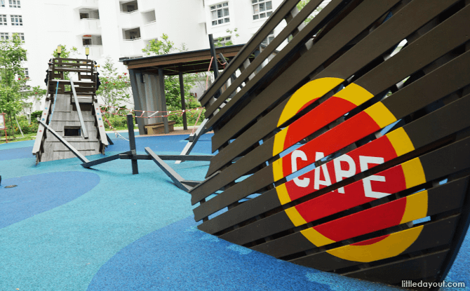 HDB Thematic Playgrounds: New Generation of Heartland Play Spots