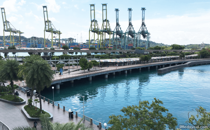 Sentosa Boardwalk - Leading out from VivoCity to Sentosa