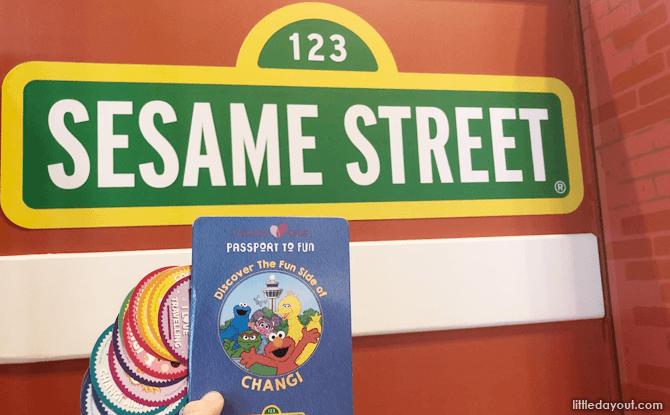 Changi Airport's Sesame Street Passport