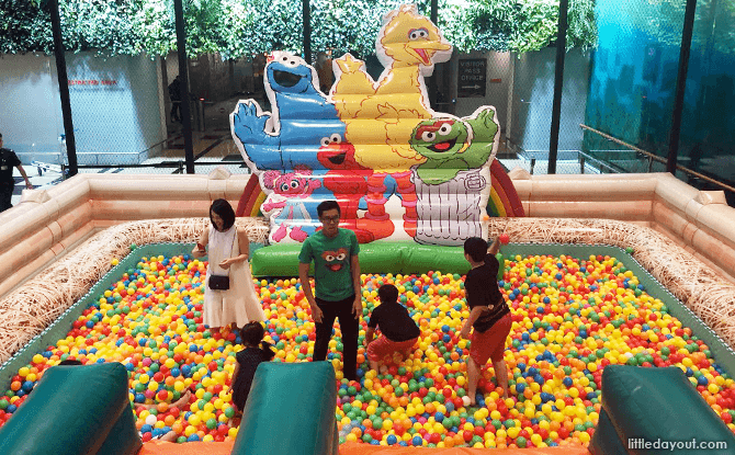 Sesame Street at Changi Airport - Inflatable Playground