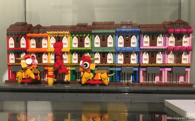 Singapore-themed LEGO Build