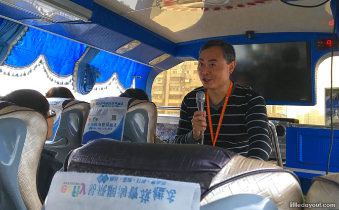 Our tour guide was fluent in both English and Mandarin, and shared from a wealth of knowledge with humour and clarity.