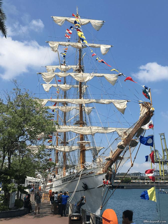 Sailing Ship Cuauhtémoc