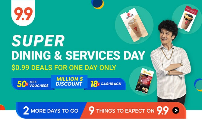 Shopee 9.9 Super Shopping Day - 9.9 sale