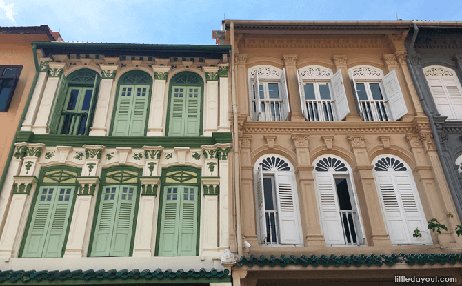 Shophouses at Ann Siang Hill