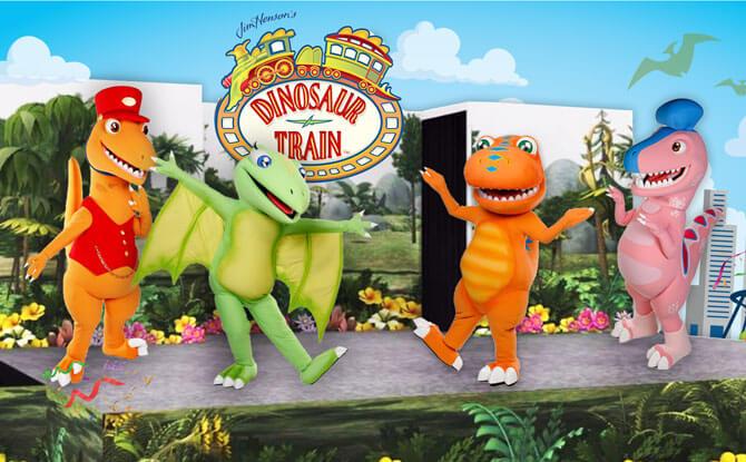 Dinosaur Train Live Show at Suntec City, June 2018
