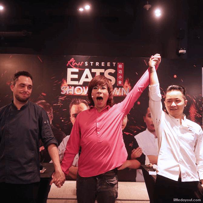Winner of the Grilled Pork Noodles Showdown