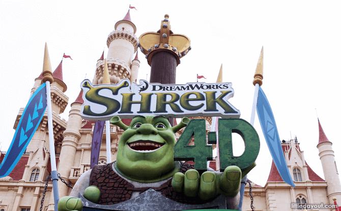 Shrek 4D
