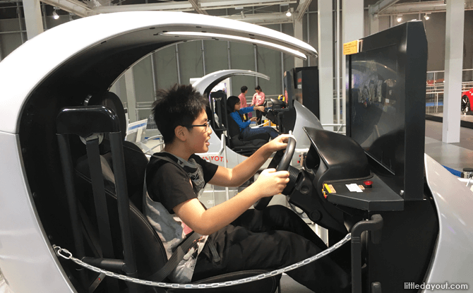 Car Safety Driving Simulator