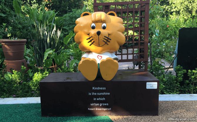 Singa the Lion at HortPark