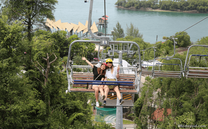 Skyride Chairlift System - Sentosa