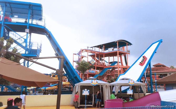 Slide Up Ride, Wild Wild Wet